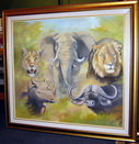Art 'n Africa - Page on Lions-Wild